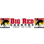 Logo da emissora KRED 92.3 FM Big Red Country
