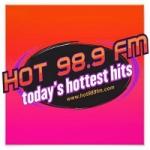 Logo da emissora Radio KRVC HOT 98.9 FM