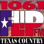 Logo da emissora KFLP 106.1 FM