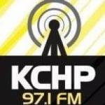 Logo da emissora Radio KCHP 97,1 FM