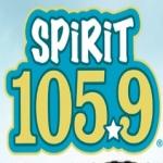 Logo da emissora KFMK Spirit 105.9 FM
