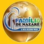 Logo da emissora R�dio Web Fam�lia de Nazar�