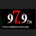 Logo da emissora Radio Louvor Rio FM 97.9