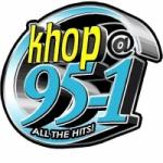 Logo da emissora Radio KHOP 95.1 FM