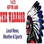 Logo da emissora KFYN 1420 AM