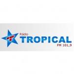 Logo da emissora Rádio Tropical 101.9 FM