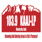 Logo da emissora KAAJ-LP 103.9 FM
