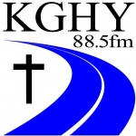 Logo da emissora KGHY 88.5 FM