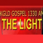 Logo da emissora KGLD 1330 AM