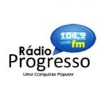 Logo da emissora Rádio Progresso 104.9 FM