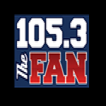 Logo da emissora KRLD 105.3 FM The Fan