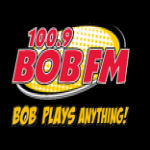 Logo da emissora KWFB 100.9 FM BOB