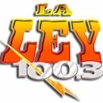 Logo da emissora Radio KRQK 100.3 FM