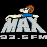Logo da emissora Radio KMKX 93.5 FM