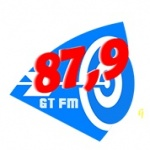 Logo da emissora Rádio GT 87.9 FM