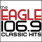 Logo da emissora KDGL 106.9 FM The Eagle