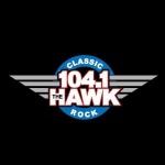 Logo da emissora Radio KHKK 104.1 FM
