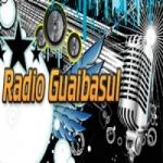 Logo da emissora R�dio Gua�basul