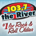 Logo da emissora KODS 103.7 FM The River