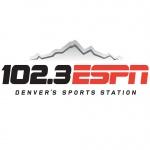 Logo da emissora KDSP 102.3 FM ESPN