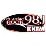 Logo da emissora Radio KKFM 98.1 FM