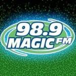 Logo da emissora Radio KKMG 98.9 FM