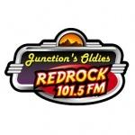 Logo da emissora KGJX 101.5 FM Redrock