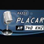 Logo da emissora R�dio Placar 740 AM