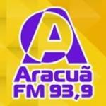 Logo da emissora R�dio Aracu� 93.9 FM