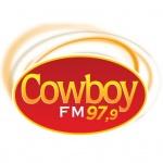 Logo da emissora Rádio Cowboy 97.9 FM
