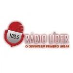 Logo da emissora Rádio Líder 103.5 FM
