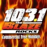 Logo da emissora Radio WZLB 103.1 FM