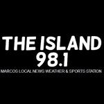 Logo da emissora WBGY 88.1 FM The Island