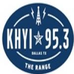 Logo da emissora KHYI 95.3 FM