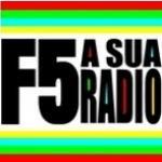 Logo da emissora Rádio F5