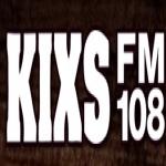 Logo da emissora KIXS 107.9 FM