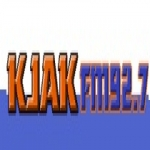 Logo da emissora KJAK 92.7 FM