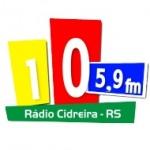 Logo da emissora Radio Cidreira FM 105.9