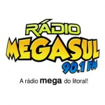 Logo da emissora Radio Megasul FM 90.1