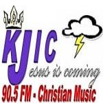 Logo da emissora KJIC 90.5 FM Worship