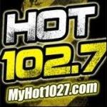 Logo da emissora WXHT 102.7 FM Hot