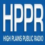 Logo da emissora KJJP 105.7 FM