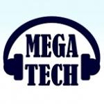 Logo da emissora Rádio Mega Tech