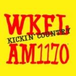 Logo da emissora Radio WKFL 1170 AM