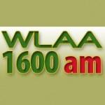 Logo da emissora Radio WLAA 1600 AM