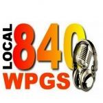 Logo da emissora Radio WPGS 840 AM