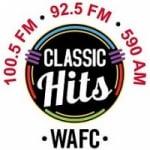 Logo da emissora Radio WAFC 100.5 FM 590 AM