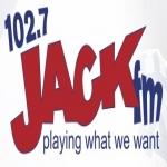 Logo da emissora KJXK 102.7 FM