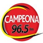 Logo da emissora Radio Campeona FM 96.5