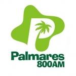 Logo da emissora Rádio Palmares 800 AM
